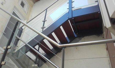 Structure métallique escaliersà Lavaur