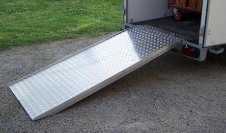 Rampes d'accès en aluminium à Lavaur